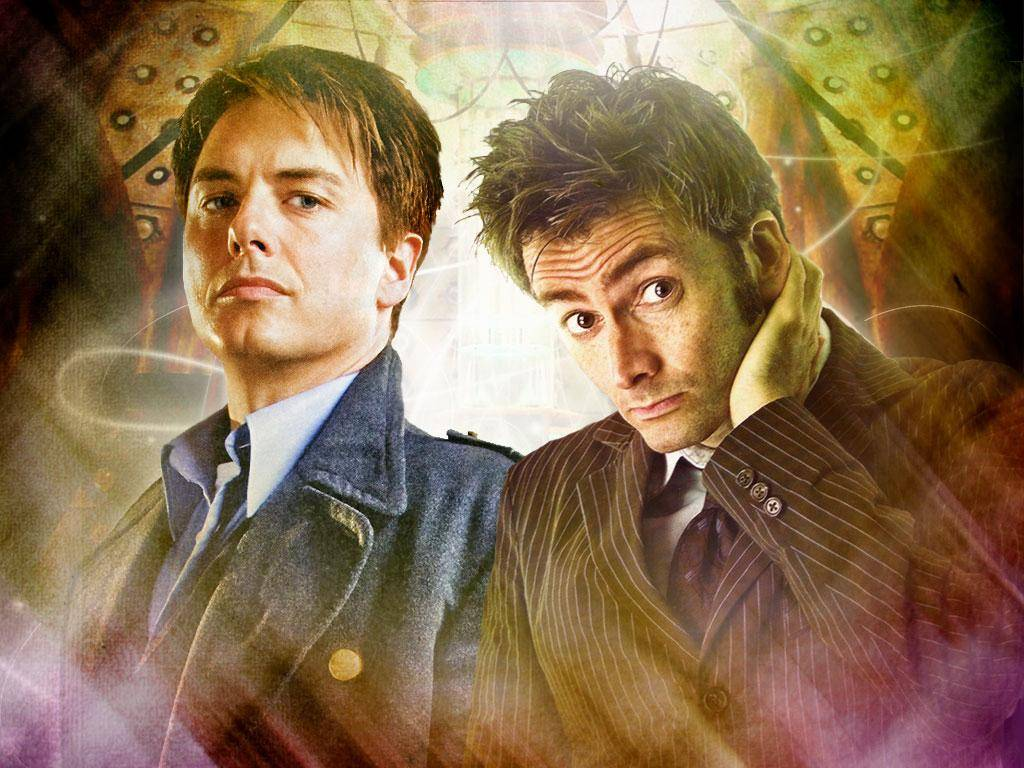 John Barrowman, Captain Jack Harness, Doctor Who, DAvid Tennant
