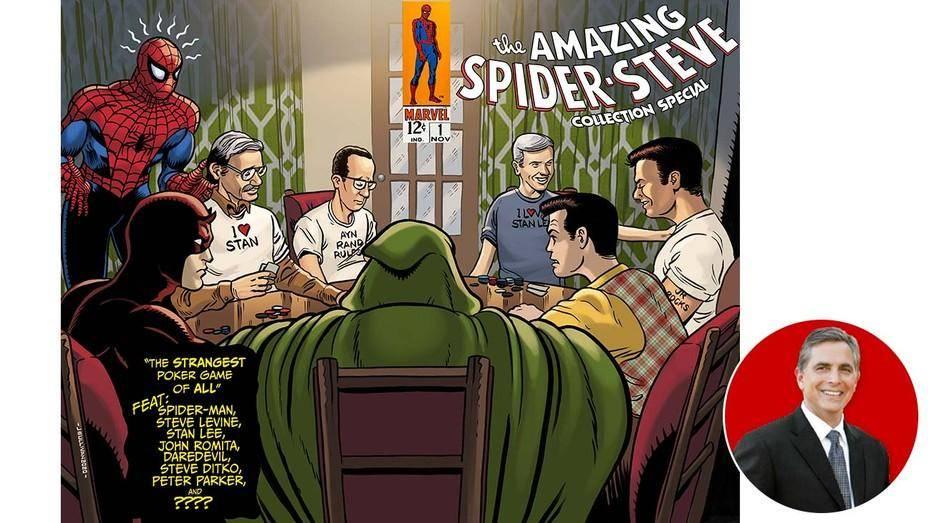 Spider-Man Steve Levine