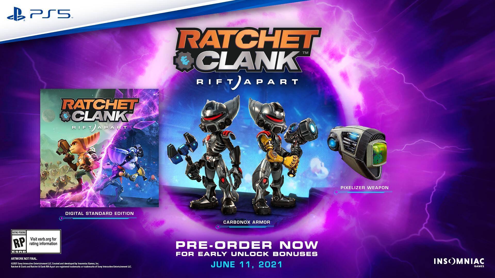 Ratchet and Clank: Rift Apart ya cuenta con fecha de estreno en PlayStation 5 1