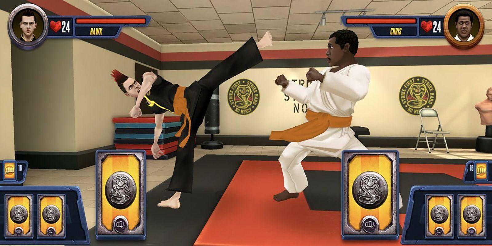 Cobra Kai: Card Fighter el videojuego de la serie 1