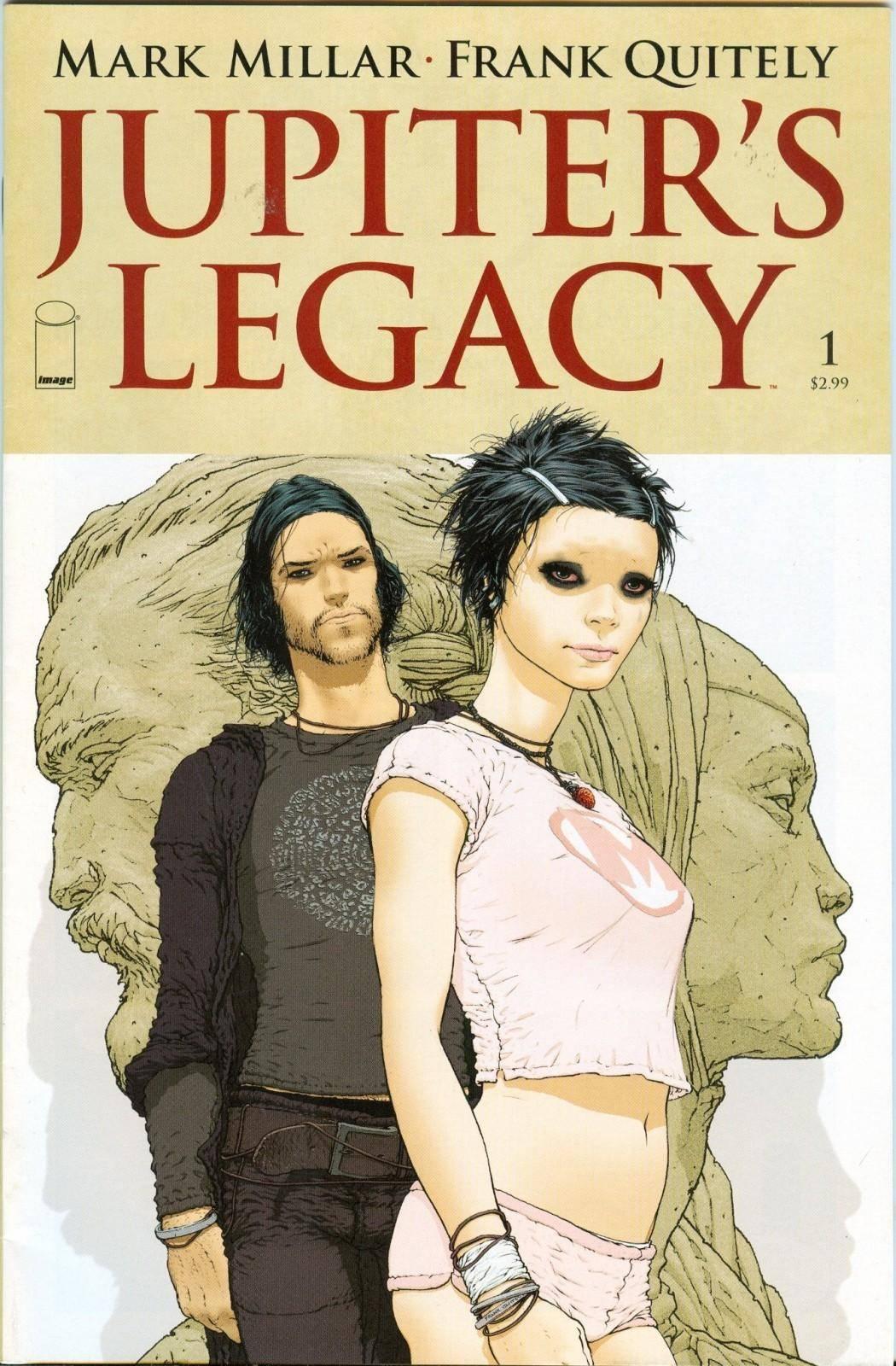 Jupiter´s Legacy nace en 2013 como un comic que presenta una combinación entre superhéroes y la cultura norteamericana.
