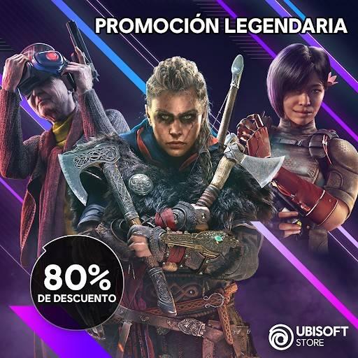 La histórica desarrolladora de videojuegos Ubisoft, se une al movimiento de alegría de los descuentos y nos regala su Legendary Sale, la cual brindará hasta un 80% en sus mejores títulos. Corre y aprovecha, la oferta estará hasta el 2 de junio.