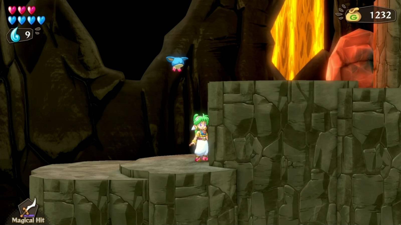 Review: Wonder Boy: Asha in Monster World (PlayStation 4) 1