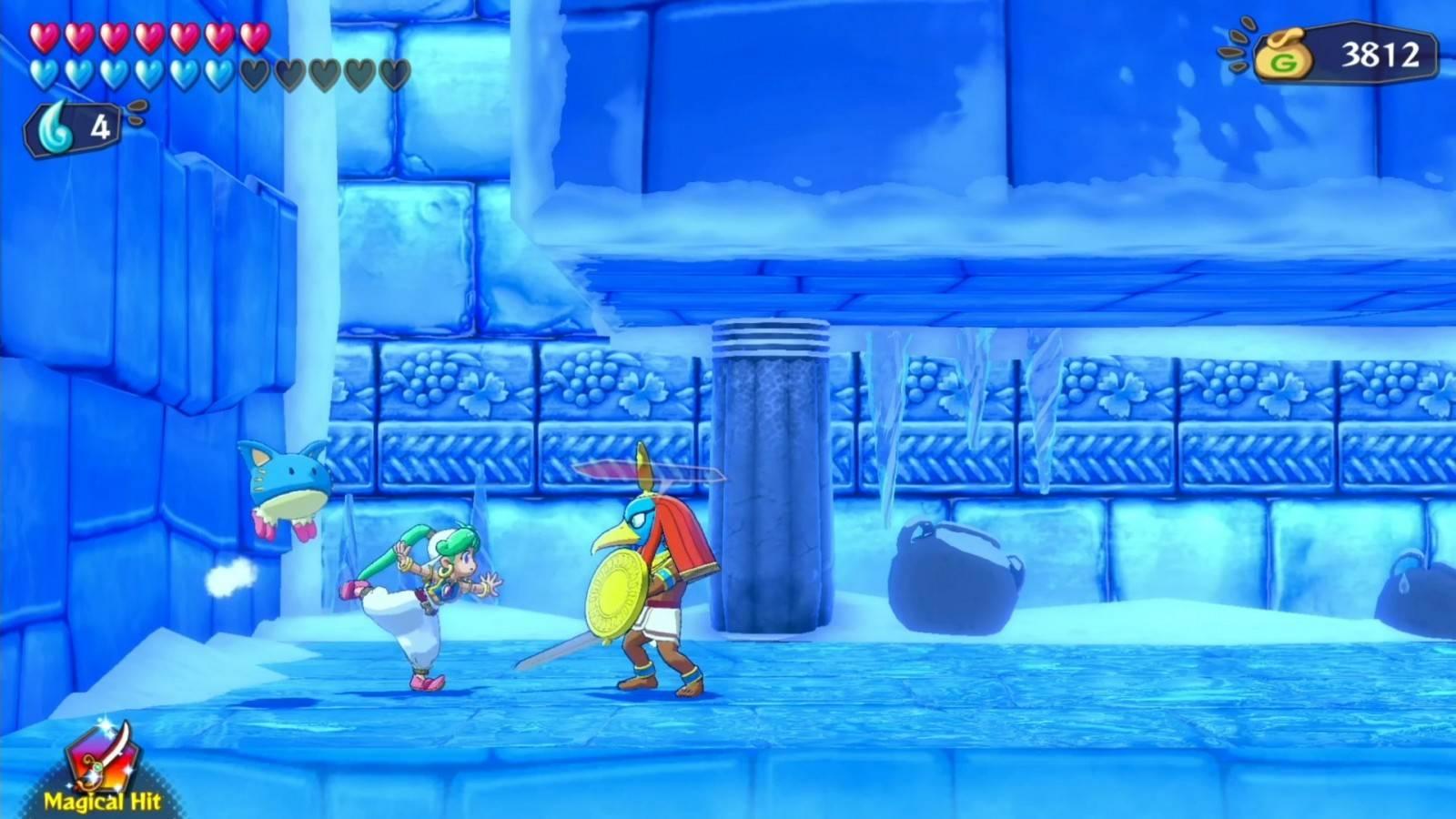 Review: Wonder Boy: Asha in Monster World (PlayStation 4) 11