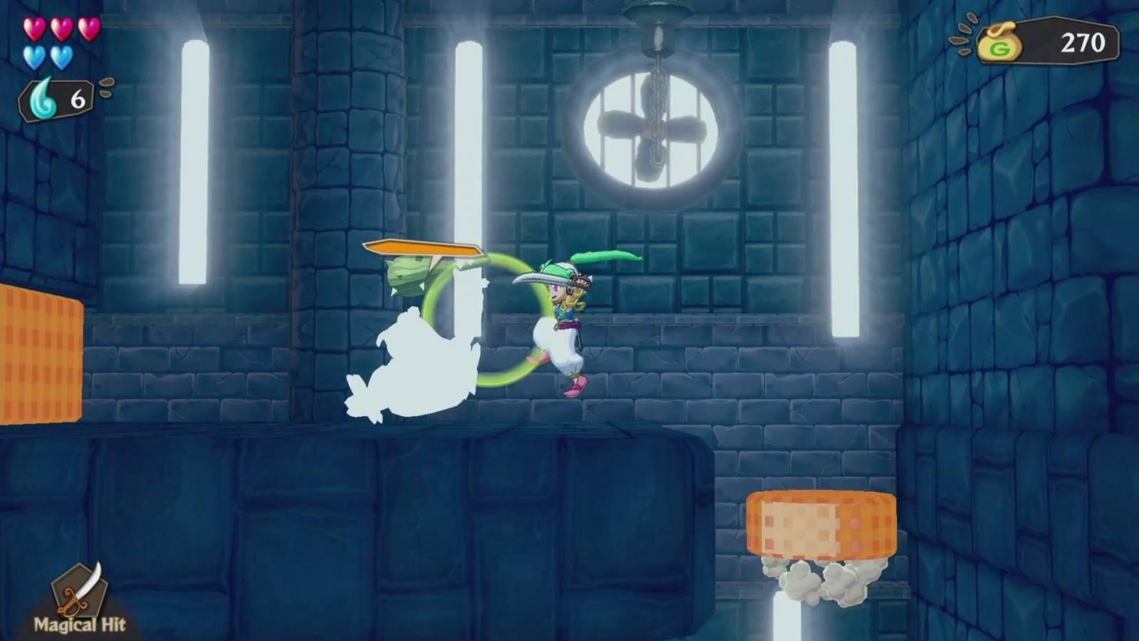 Review: Wonder Boy: Asha in Monster World (PlayStation 4) 12