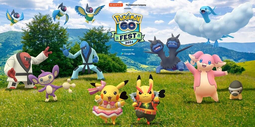 Pokemon Go Fest 2021 estas son todas las novedades de la edición de este año.