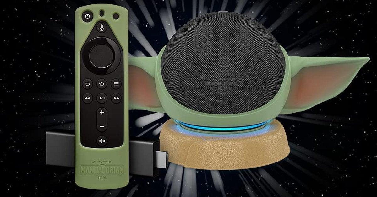"""Star Wars: Transforma tu EchoDot en Baby Yoda """"Grogu"""" con este soporte 1"""