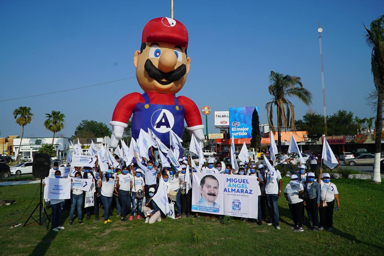Miguel Almaraz Maldonado, Mario Bros, Candidato, PAN, PRI, Nintendo
