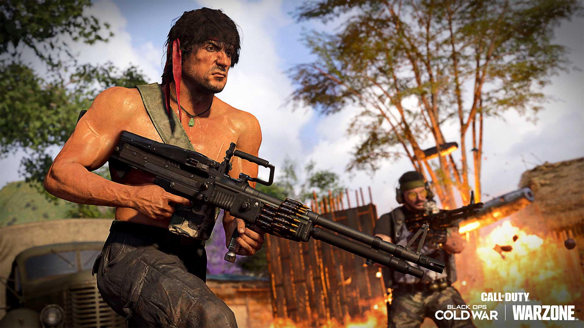 Rambo y John McClane debutan en Call of Duty: Black Ops Cold War y Warzone 4
