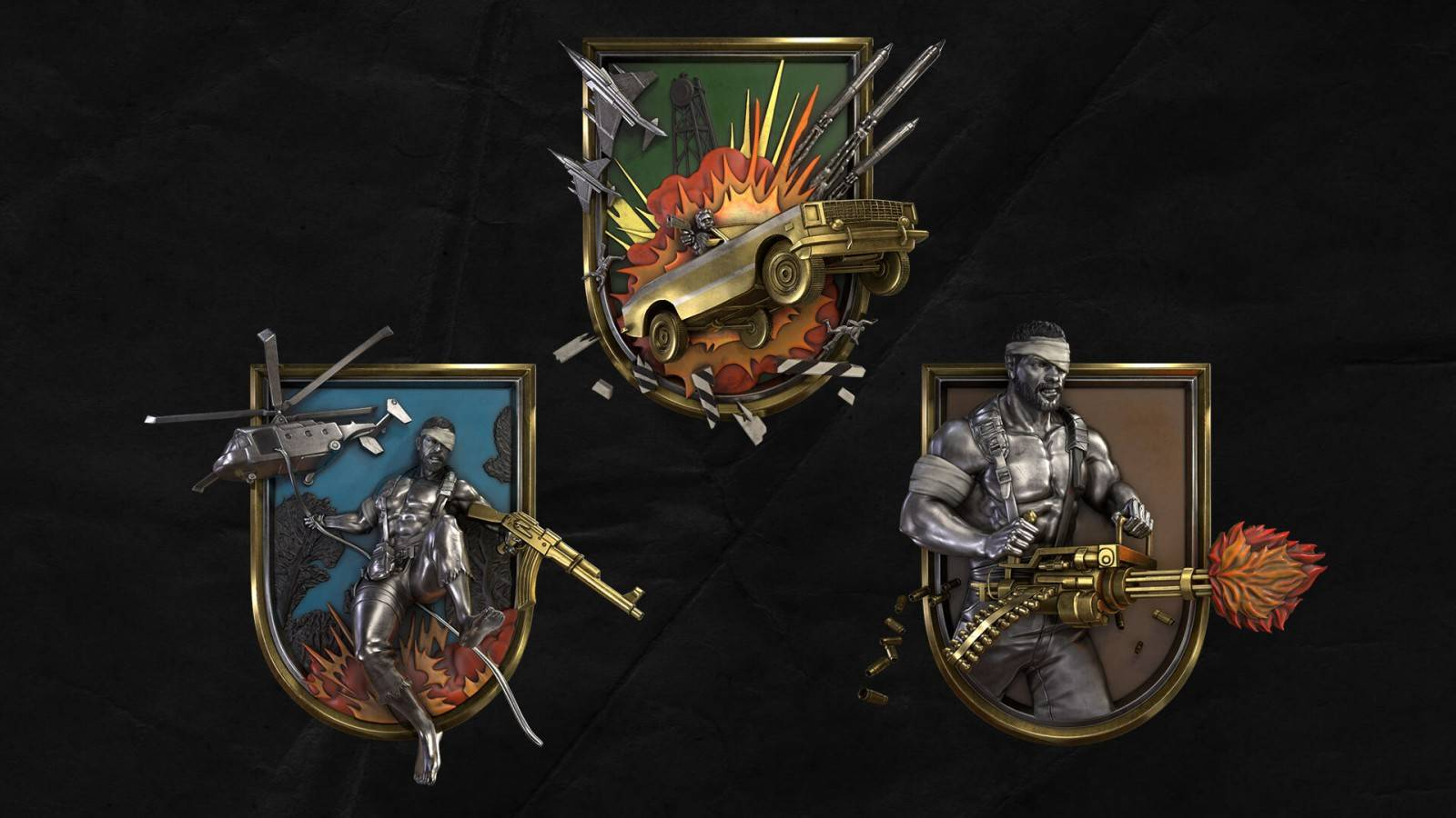 Call Of Duty: 80's Action Heroes (Medallas)
