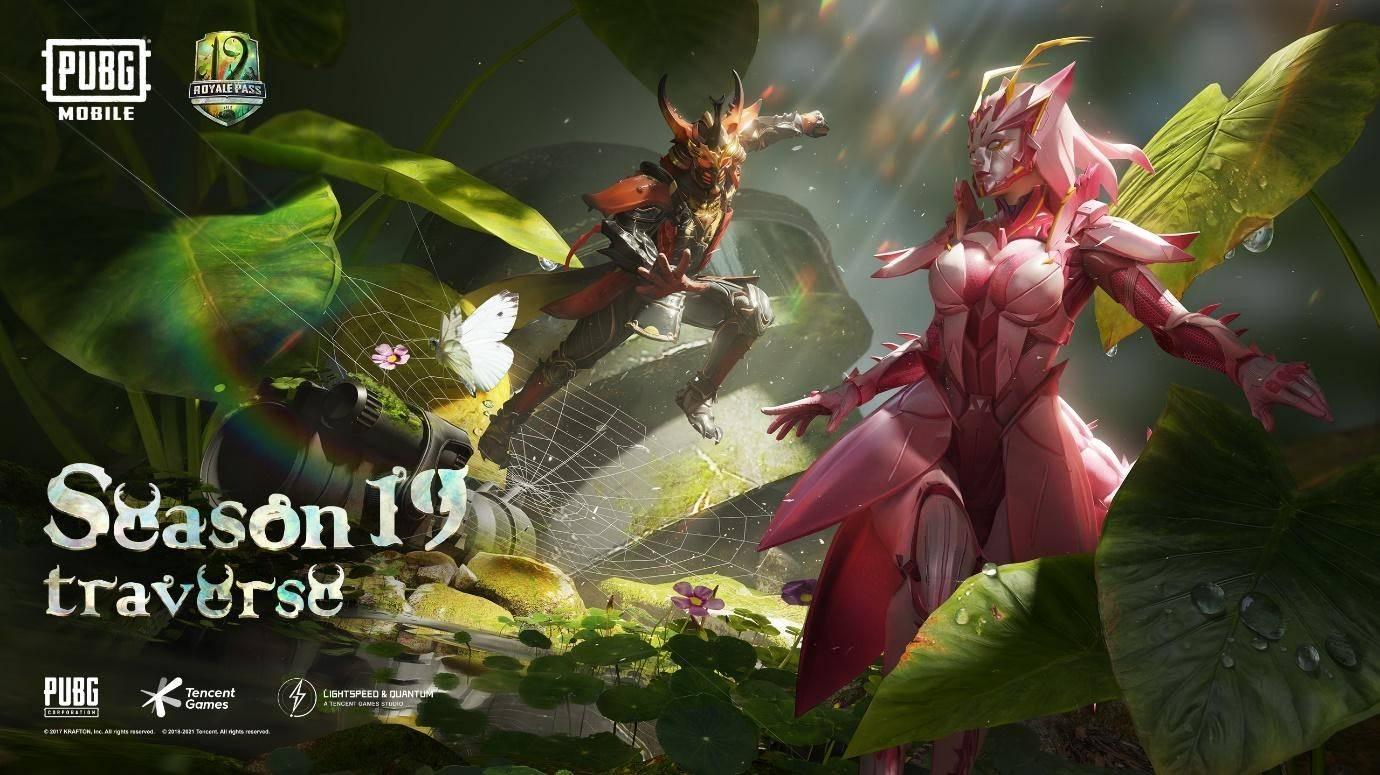 """PUBG Mobile presenta su nueva temporada """"Travesía"""" que introduce un mundo microscópico para que los jugadores exploren."""