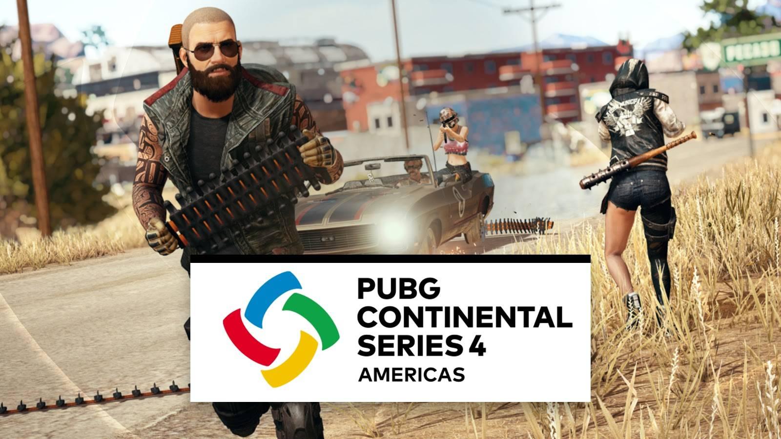 PUBG: Continental Series 4 Ya tiene a los 16 finalistas de américa.