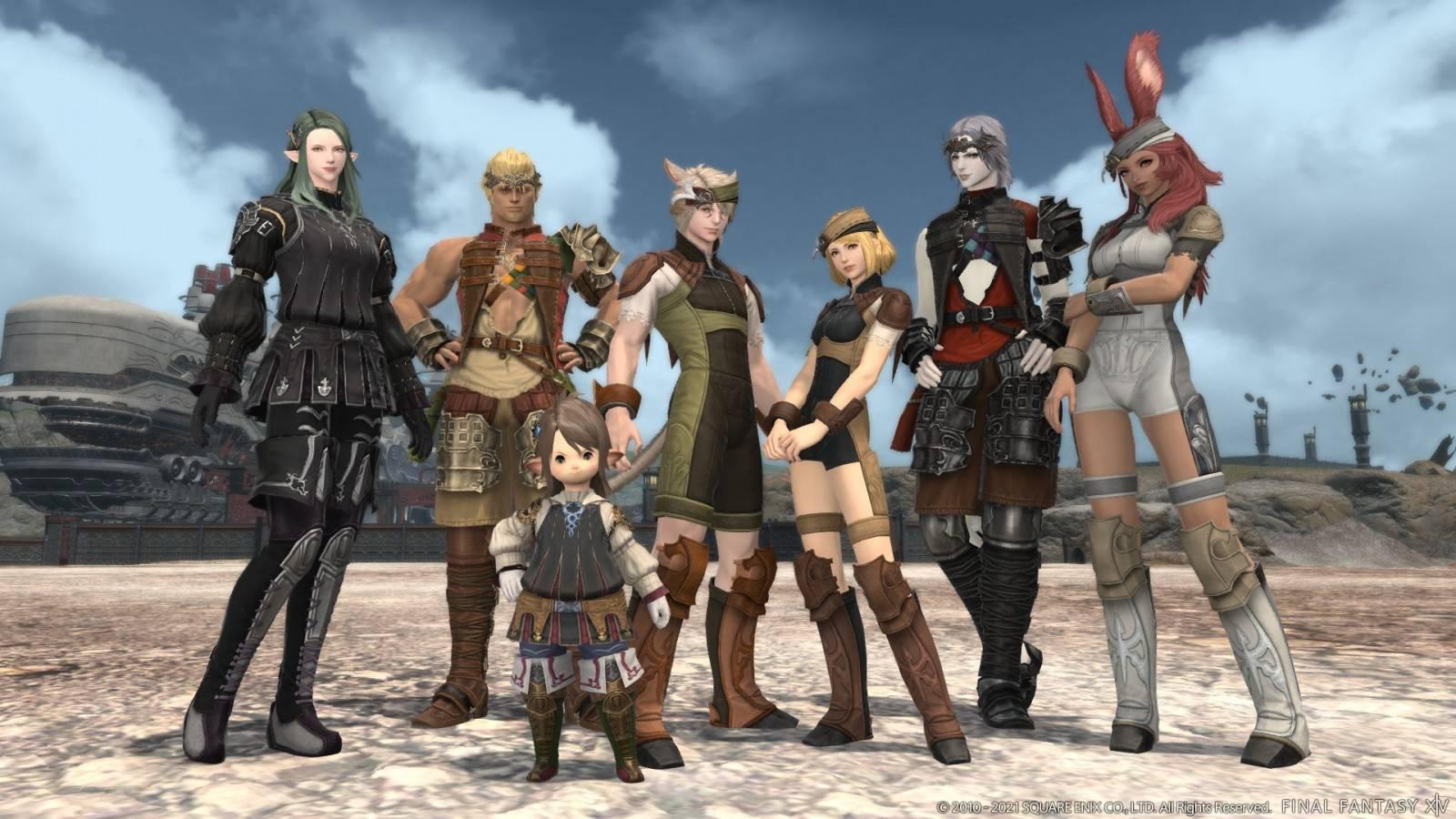 """Final Fantasy XIV Online Recibe actualización preparando el terreno para """"Endwalker"""""""