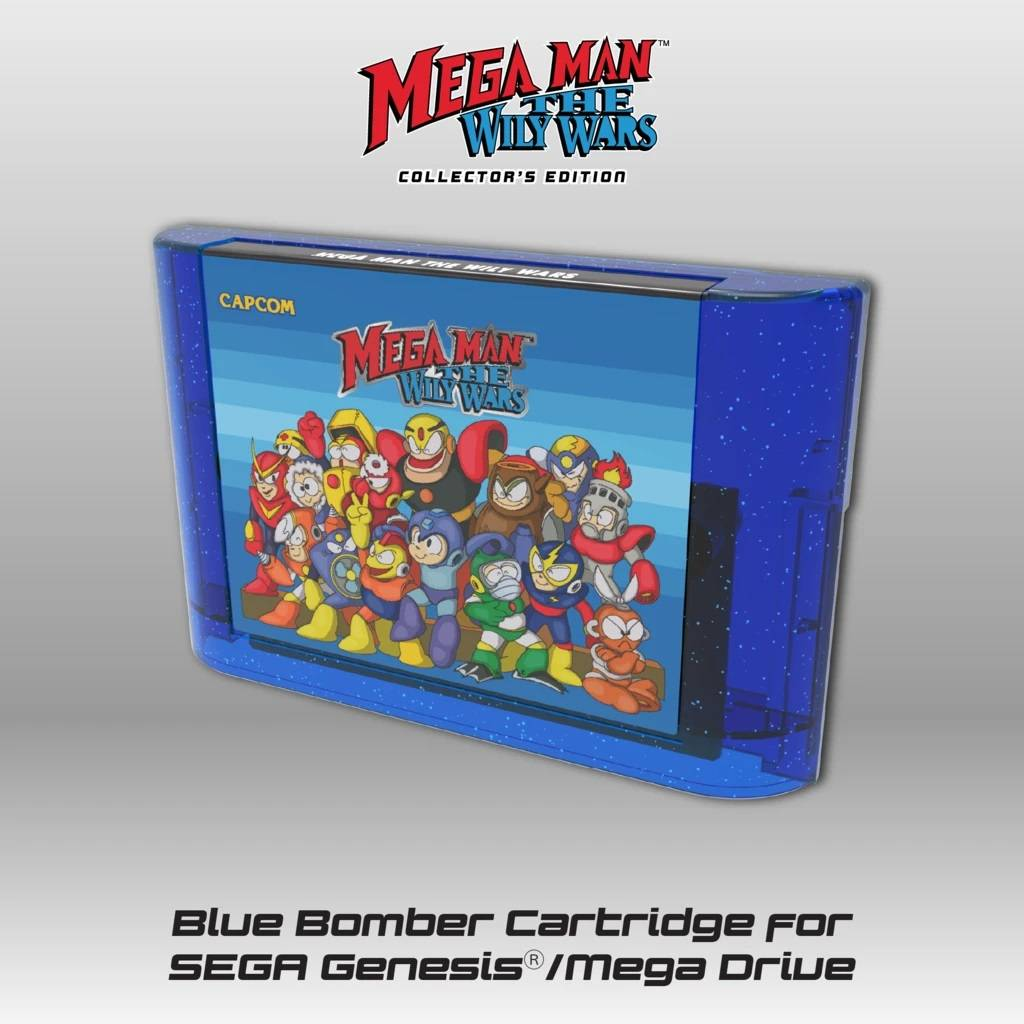 ¡Mega Man - The Wily Wars ya disponible en pre-venta para Genesis/Mega Drive! 3