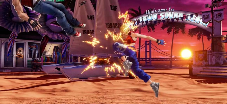 Blue Mary estará en The King of Fighters XV 10