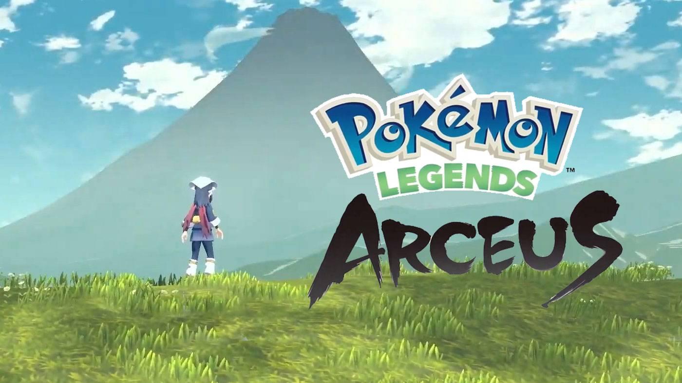 Pokemon Legends Arceus revela su fecha de lanzamiento.