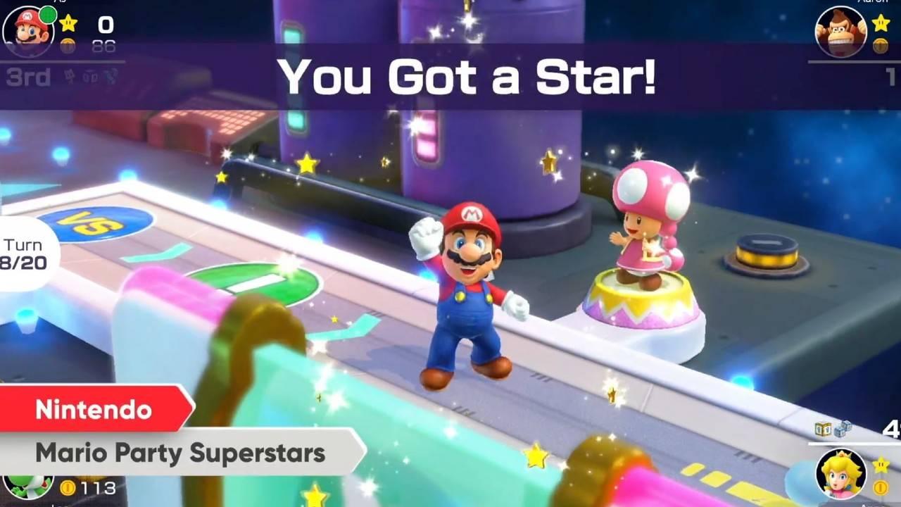 Nuestras plegarias han sido escuchadas y Nintendo nos ha presentado el Nuevo Mario Party Superstars, el cual además de brindarnos la experiencia que ya conocemos, nos ha premiado con todo lo clásico que nos enamoró de la serie.