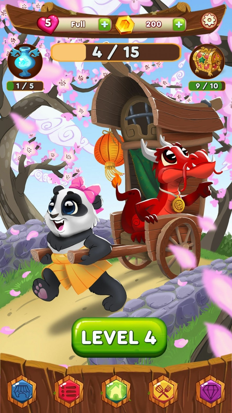 Panda Swap: El Juego de Puzzles con temática China llega a iOS y Android 2