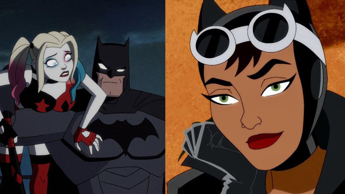 Batman, Harley Quinn, Catwoman