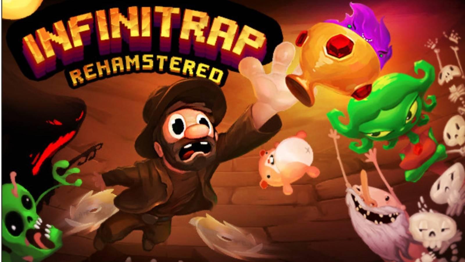 """Por primera vez Infinitrap llegara a consolas en su versión """"Rehasmtered"""" el juego de plataformas de Shadebob Games"""