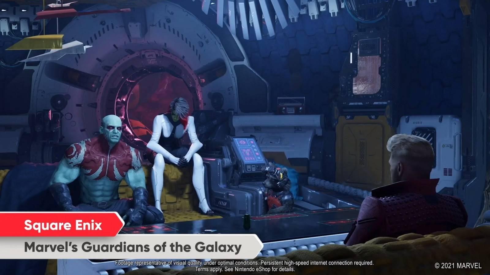 Guardians of the Galaxy llegará a Nintendo Switch