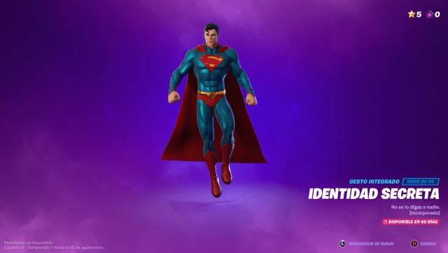 Fortnite Temporada 7: ¿Cómo consigo la skin de Superman? 1