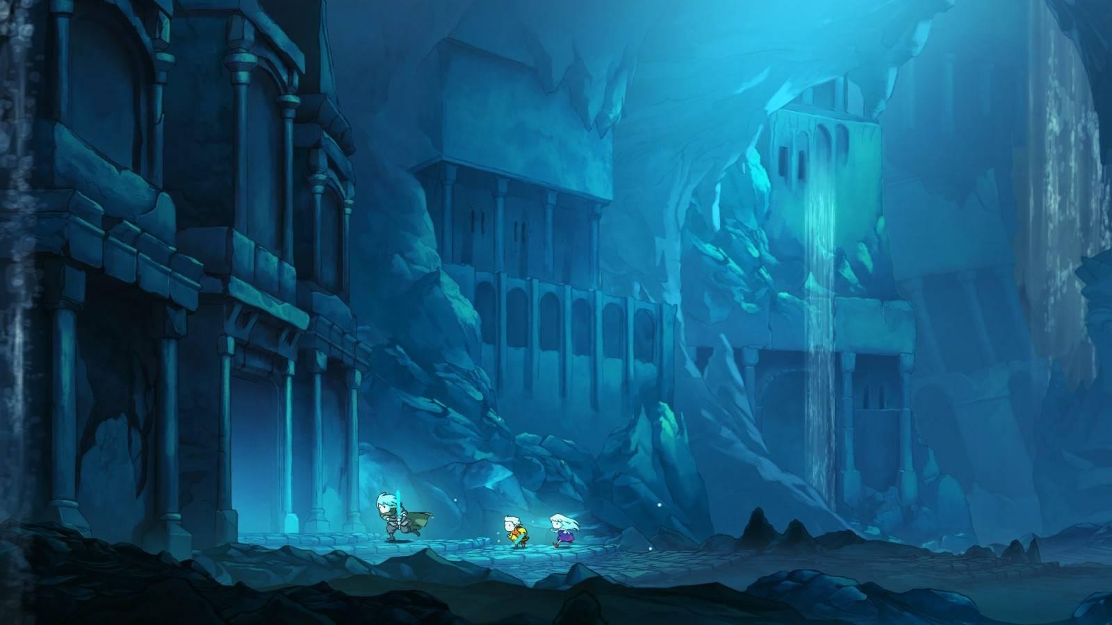 Greak: Memories of Azur saldrá este verano de 2021 2