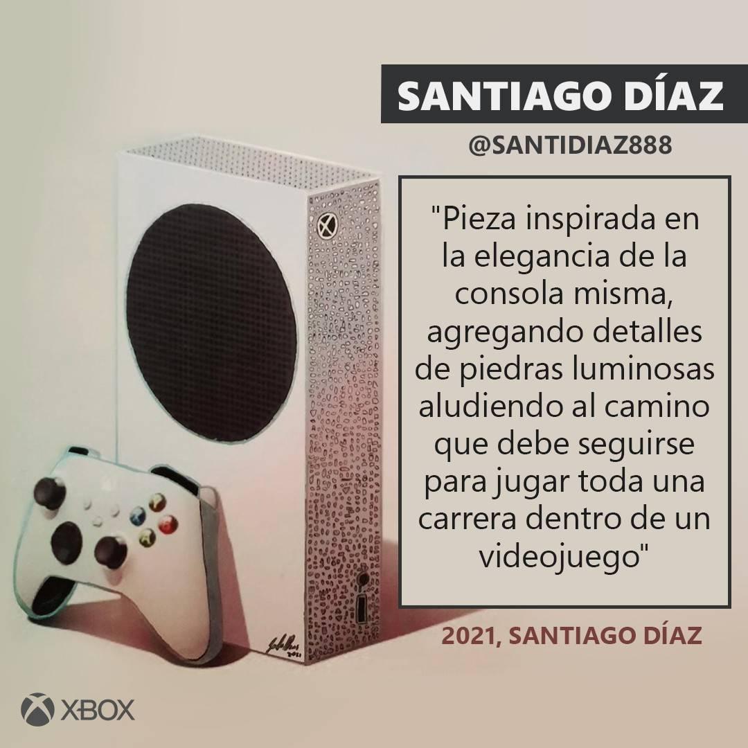 Xbox anuncia un concurso donde varios artistas competirán para diseñar una Series S 3