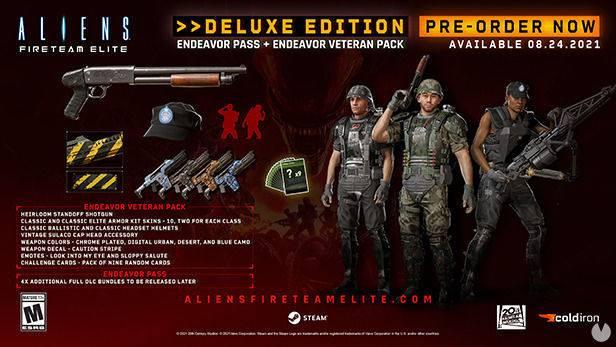 Aliens Fireteam Elite deluxe edition