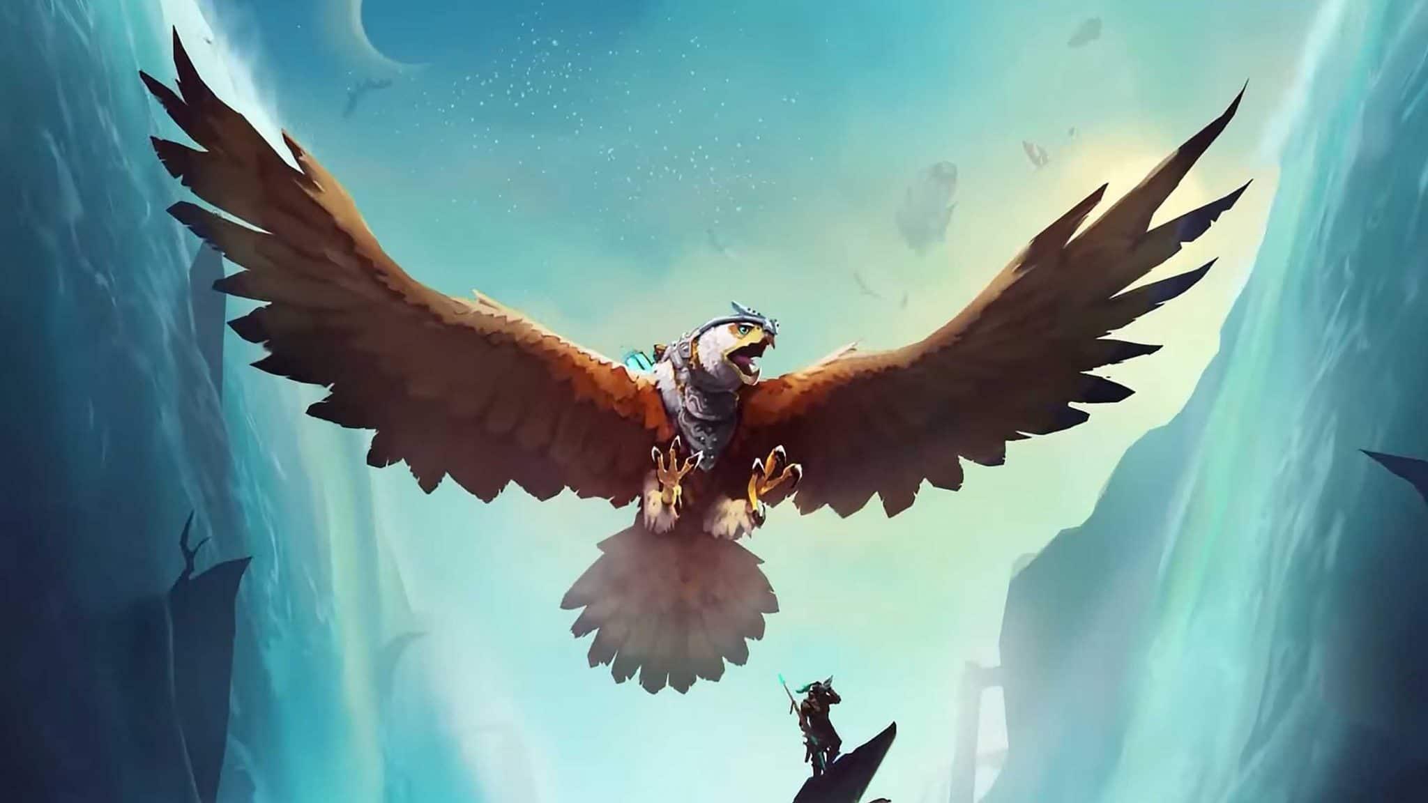 The Falconeer Aterriza en la plataforma Amazon Luna.