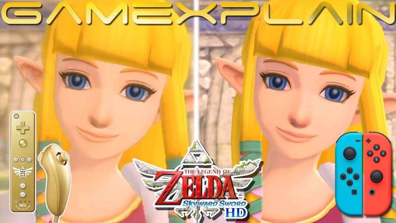 The Legend of Zelda: Skyward Sword HD: Vídeo compara las versiones de Wii y Switch 2