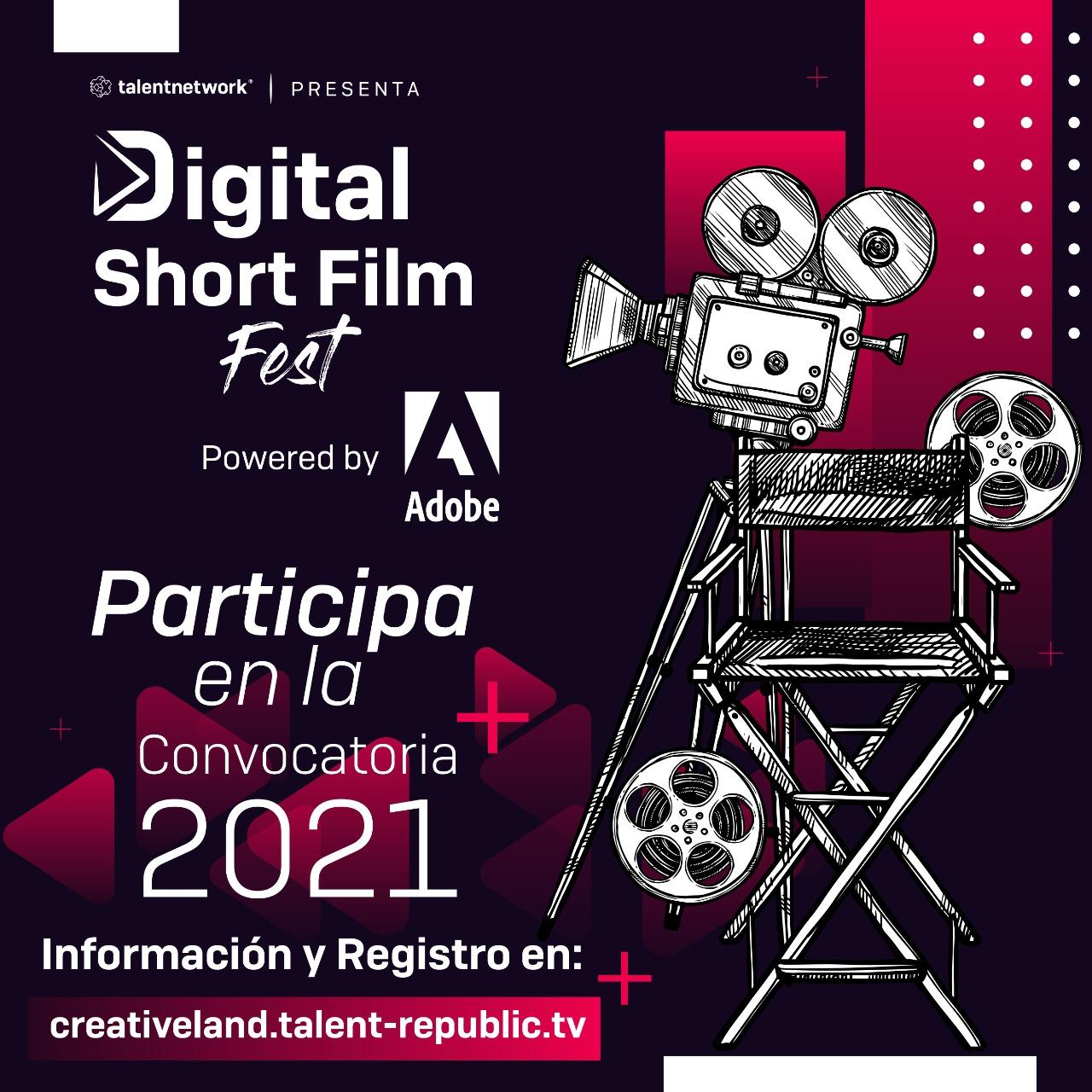 Digital Short Film Fest 2021: ¡Aun tienes oportunidad de participar! 2