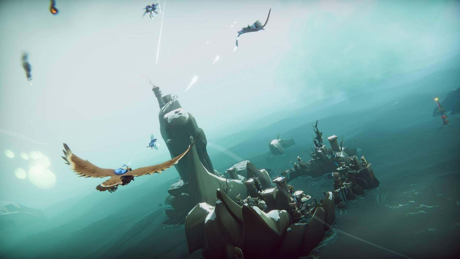 The Falconeer: El Galardonado juego ya se encuentra disponible en Amazon Luna 3