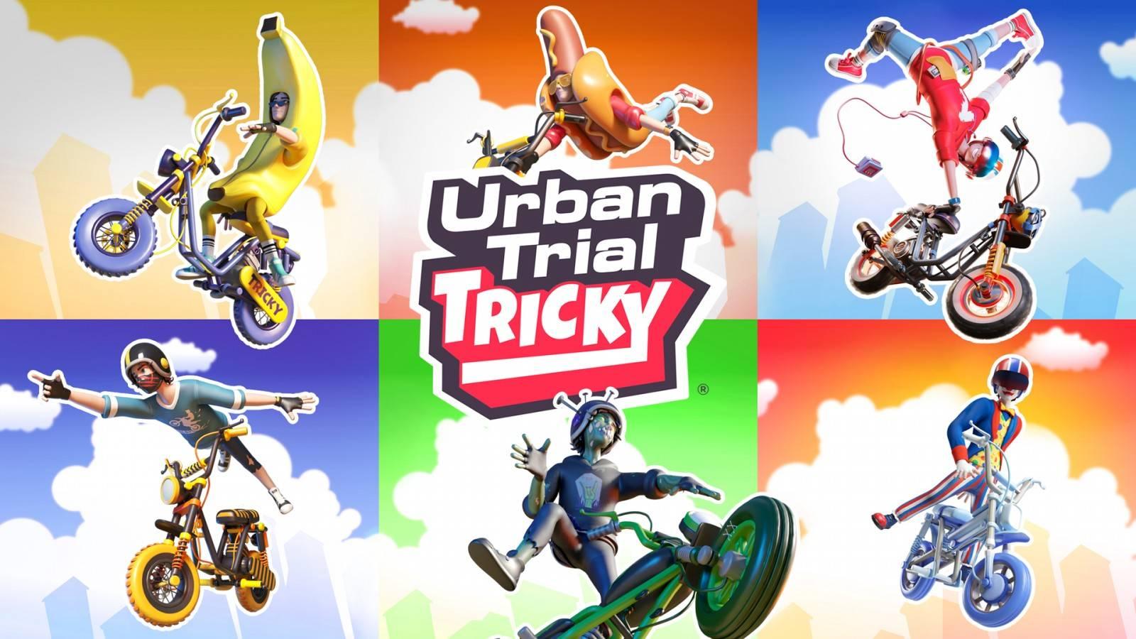 Urban Trial Tricky Deluxe Edition Anuncia su llegada a PlayStation 4, xbox One y PC este 22 de Julio.