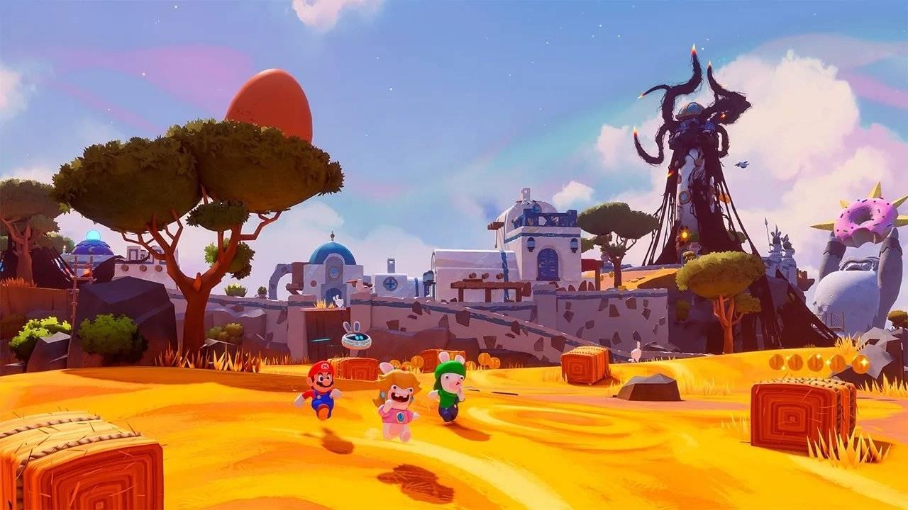 Nintendo se le adelanta a Ubisoft y anuncia Mario + Rabbids Sparks of Hope 2
