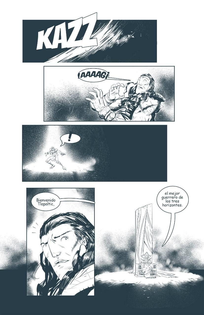 Horizonte Oculto es un cómic mexicano lleno de acción y misticismo 1