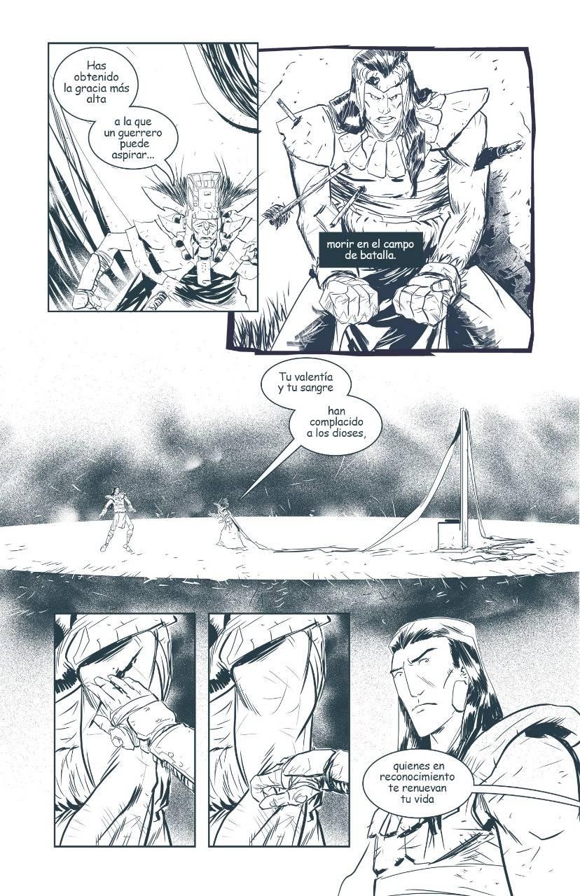 Horizonte Oculto es un cómic mexicano lleno de acción y misticismo 3