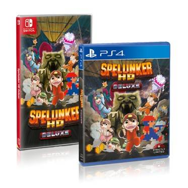 Stricly Limited presenta Spelunker HD Deluxe (Nintendo Switch, PlayStation 4) 3
