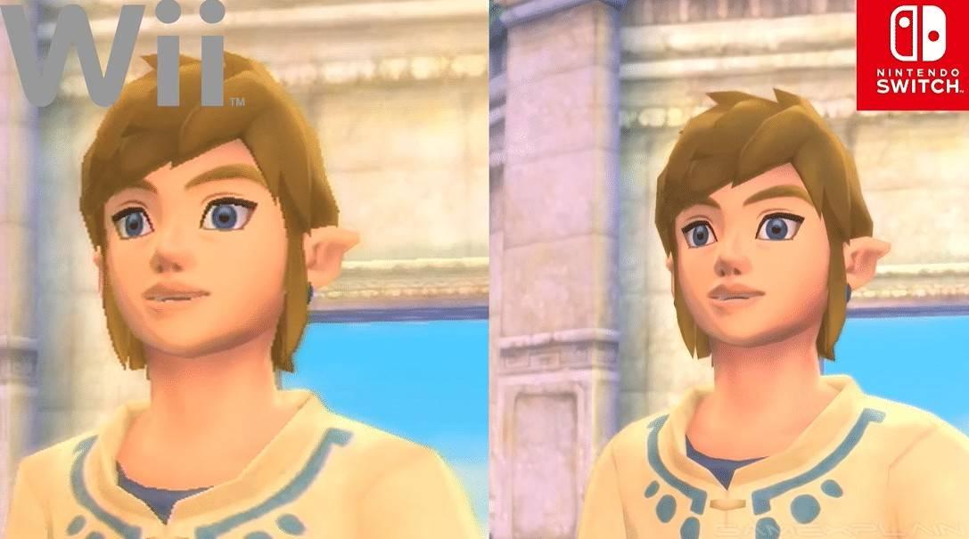 The Legend of Zelda: Skyward Sword HD: Vídeo compara las versiones de Wii y Switch 3