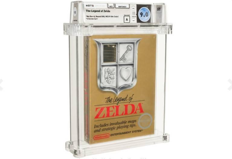 The Legend of Zelda: Una copia del primer titulo de NES alcanzo los $110,000 USD en una subasta 1