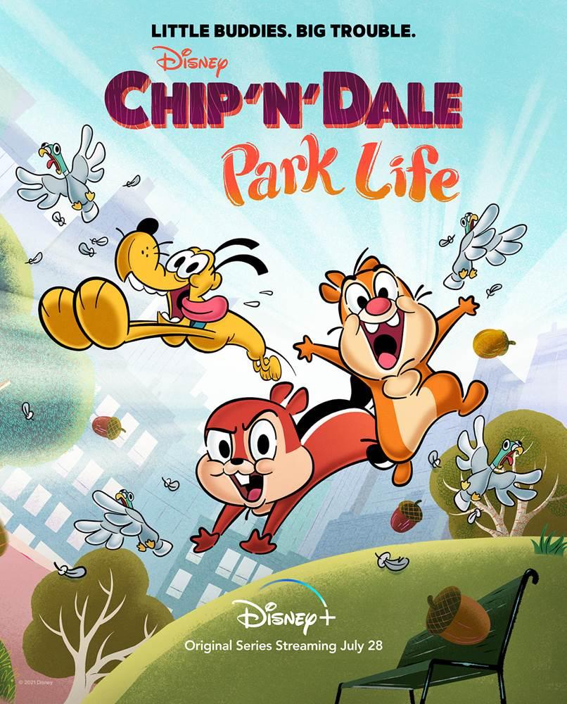 Chip y Dale, Vida en el Parque, Chip and Dale, Park Life