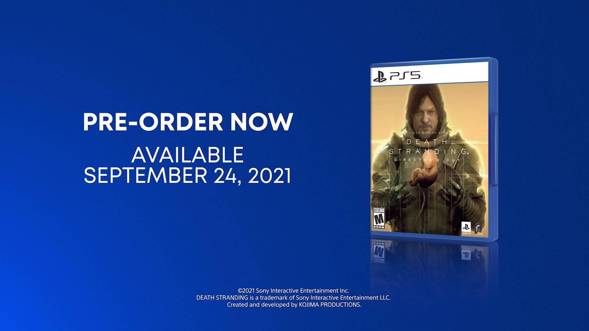 Death Stranding Director´s Cut llega el 24 de Septiembre con nuevas misiones y mas contenido a PlayStation 5.