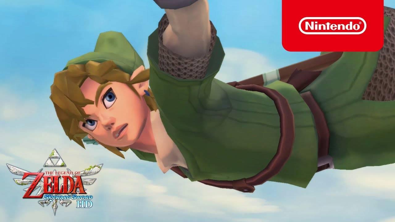 The Legend of Zelda: Skyward Sword HD libera nuevo tráiler 1