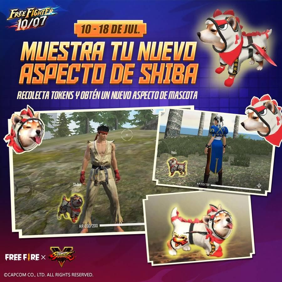 La colaboración entre Free Fire y Street Fighter V llegará a su fin este 10 de Julio 3
