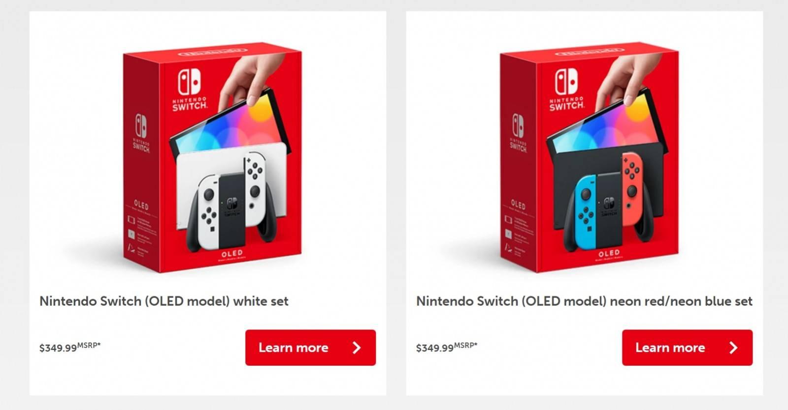 Este es el nuevo modelo del Nintendo Switch: OLED 4