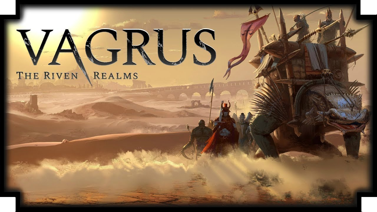 Vagrus: The Riven Realms Recluta y lidera a tus compañeros en un peligroso viaje a través de un reino abandonado.