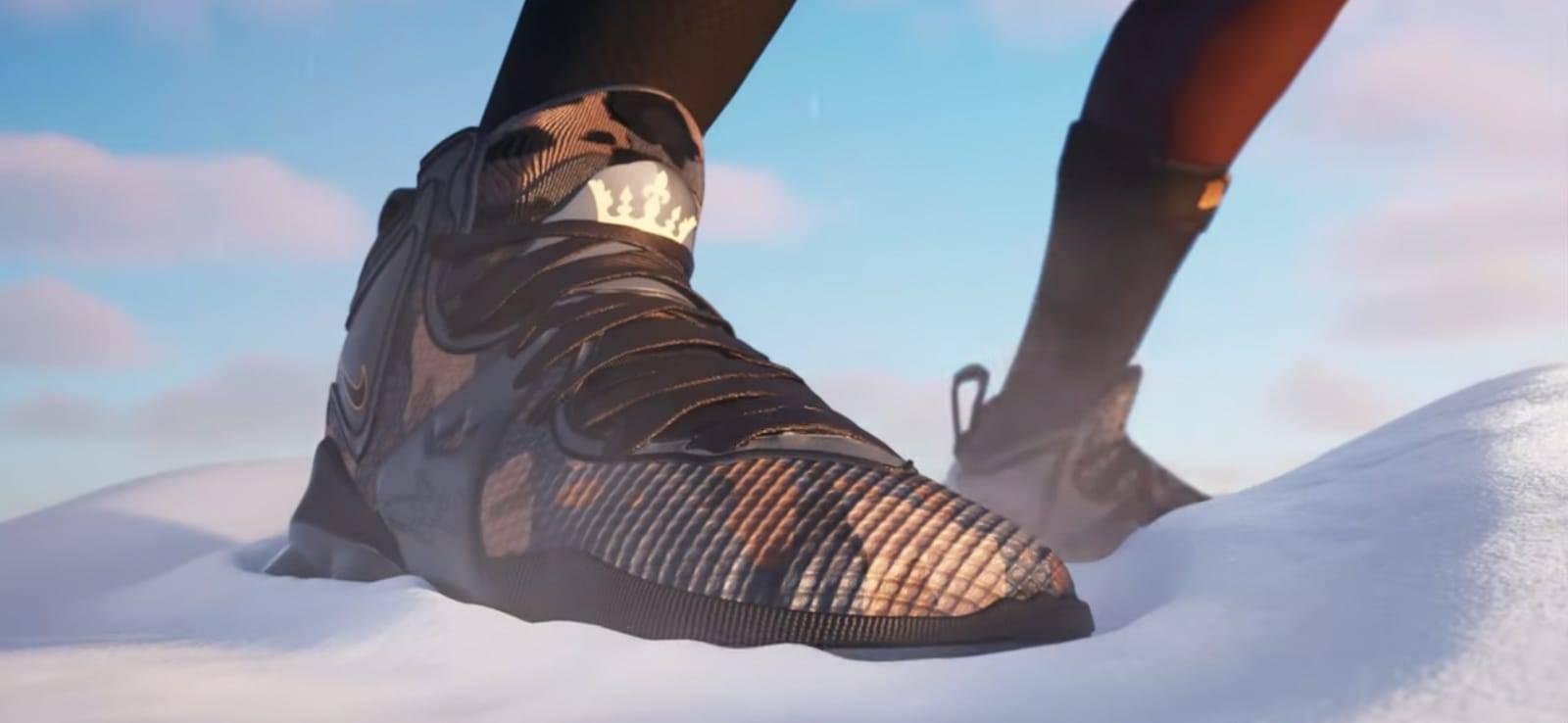 El Rey LeBron James llega a Fortnite 4