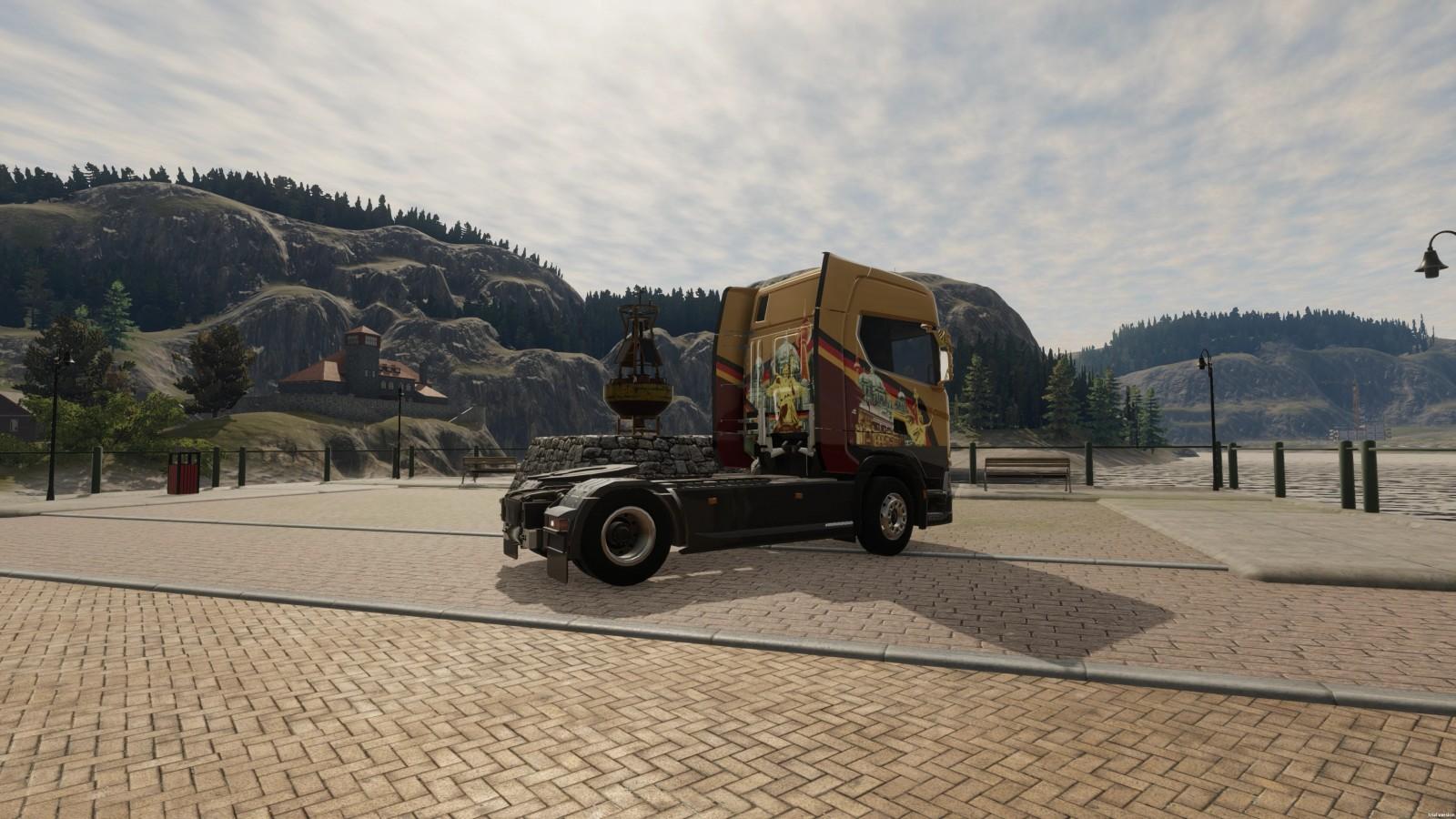 Truck Driver Premium Edition llega el 30 de septiembre a PS5 y Xbox Series S/X 3