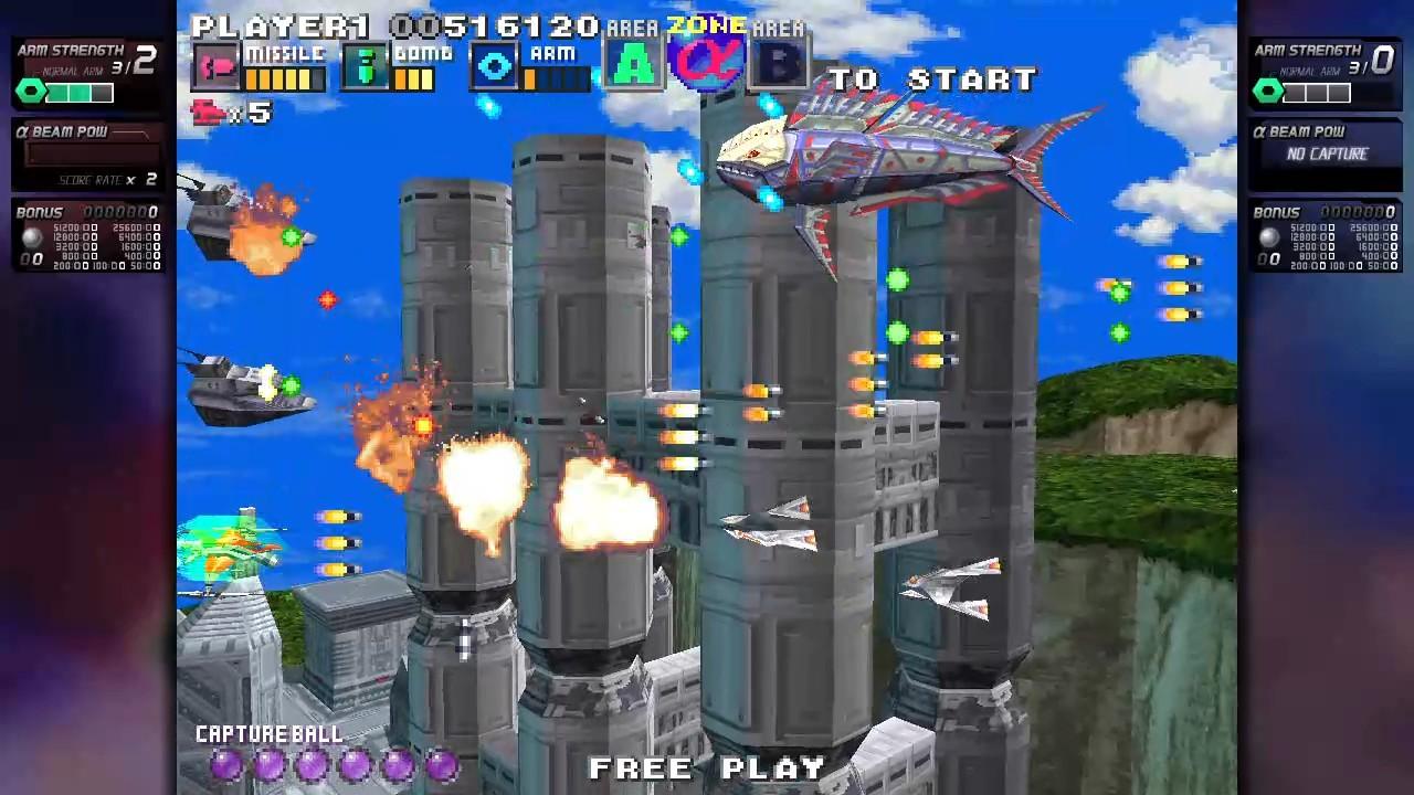 ININ Games revive el clásico G-Darius en su versión HD 4