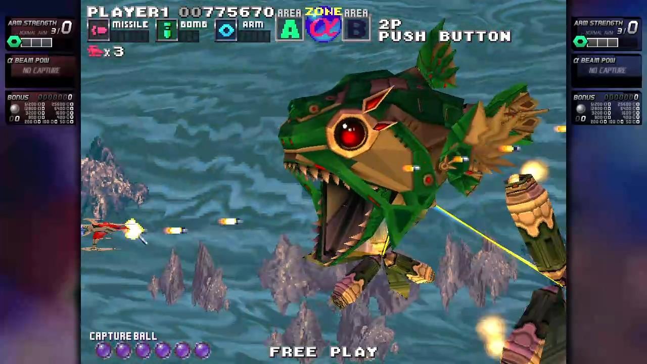 ININ Games revive el clásico G-Darius en su versión HD 9
